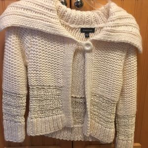 Bebe cream sweater